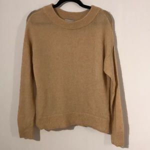 H&M fuzzy mohair and wool blend sweater